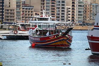 Gozo boat - Maryanne