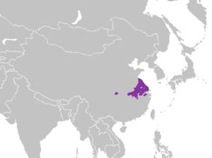 Lower Yangtze Mandarin - Image: Mandarín jianghuai