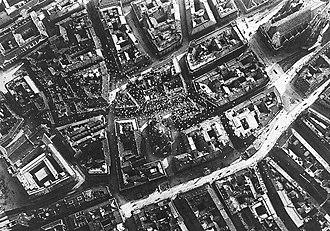 Flight over Vienna - Italian leaflets dropped over Vienna.