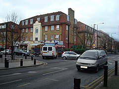 Manor Road, junction with Memorial Avenue, London E15 - geograph.org.uk - 701757.jpg