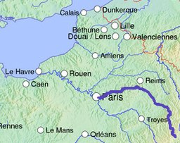 Course of the Marne
