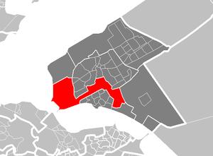 Almere Poort - Map of Almere Poort