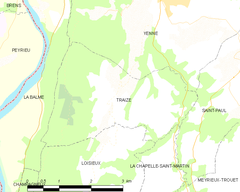 Map commune FR insee code 73299.png