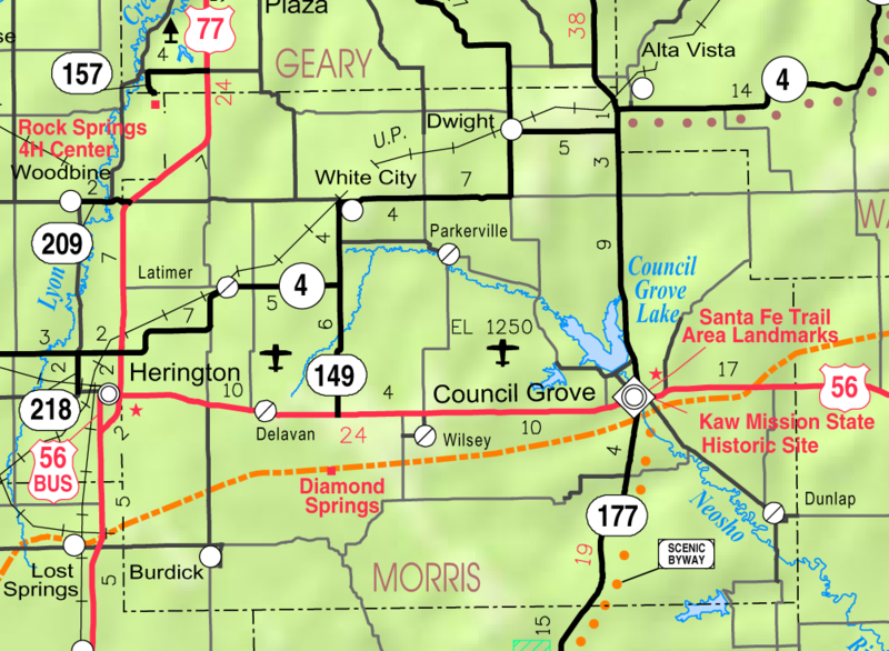 File Map Of Morris Co Ks Usa Png Wikimedia Commons