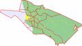 Map of Oulu highlighting Hietasaari.png