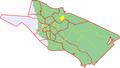 Map of Oulu highlighting Talvikangas.png