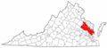 Map of Virginia highlighting Middle Peninsula.png