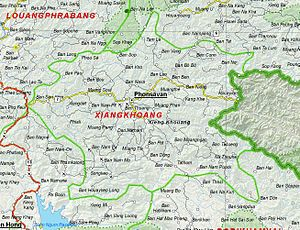 Campaign Z - Xiangkhoang Province, Laos contains the Plain of Jars where Campaign Z was waged.