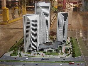 Centro Empresarial Nações Unidas - Image: Maquete CENU