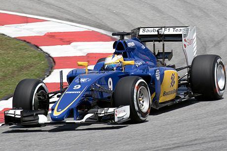 Marcus Ericsson 2015 Malaysia FP3