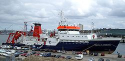 RV Maria S. Merian - Germany's latest research vessel