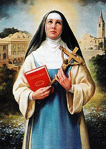 Blessed Maria Vittoria De Fornari Strata, the founder of the Order of the Most Holy Annunciation. Maria Vittoria De Fornari Strata.jpg