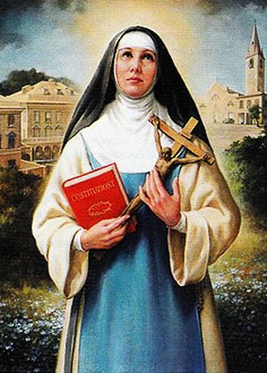 Order of the Most Holy Annunciation - Blessed Maria Vittoria De Fornari Strata, the founder of the Order of the Most Holy Annunciation.