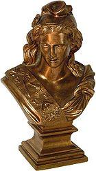 Masonic Marianne bronze