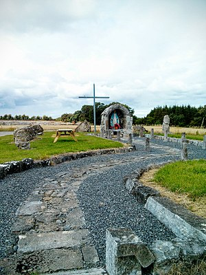 Mucklagh, County Offaly - Image: Marianshrinemucklagh 1