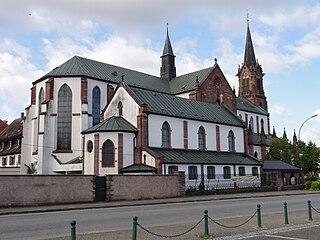 Church in Haguenau, France