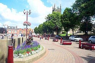 Ilkeston - Image: Market Square, Ilkeston, Derbyshire