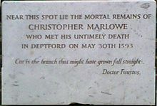 the life and works of christopher marlowe The works of christopher marlowe, with notes and some account of his life and writings item preview.