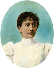 Portrait of Aniela Rapacka.