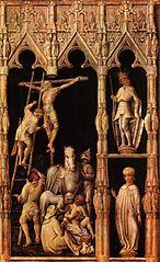 Kalvarienberg mit den hll. Koloman, Quirin, Kastor und Chrysogonus