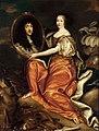 Mathieu, Antoine - Henriette of England holding a portrait of her husband - Versailles.jpg