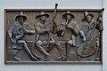 Matrei - Musikschule - Relief vier Musikanten von Erich Trost - TKK 17133.jpg
