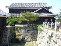 Matsuyama castle(Iyo),Inui-yagura.JPG