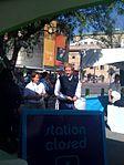 Matthew Modine from Full Metal Jacket checking out a Freewheelin bike (2800852879).jpg