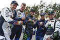Mattias Ekström (EKS), Johan Kristoffersson, Andreas Bakkerud, Sébastien Loeb, Petter Solberg (29400833323).jpg