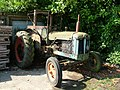 Mature tractor on a farm at Westley - geograph.org.uk - 1461465.jpg
