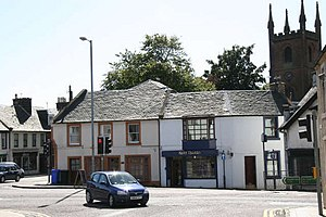 Mauchline - Image: Mauchline Cross geograph.org.uk 297617