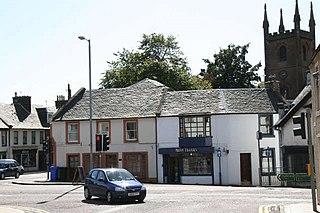 Mauchline Town and civil parish in East Ayrshire, Scotland