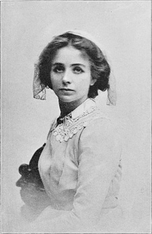 Quality Street (play) - Maude Adams as Phoebe in the 1901 Broadway production