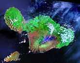 Maui Landsat Photo