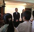 Mauricio Macri dio inicio al ciclo lectivo 2012 de las escuelas primarias porteñas (6938714431).jpg