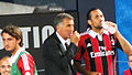 Mauro Tassotti talks to Mario Yepes.jpg