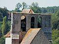 Mauzens-et-Miremont Mauzens église clocher.JPG