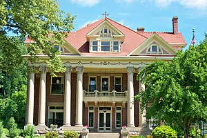 Historic Mayo Mansion in Paintsville, Kentucky.