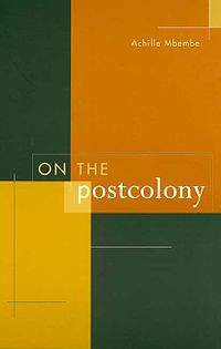 On the Postcolony cover