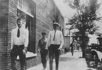 McBee, South Carolina - McBee 1920s Main Street