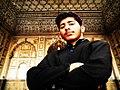 Me at Badshahi Mosque Lahore Pakistan.jpg