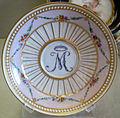 Meissen, 1750-1760 circa, tazza e piattino con M 03.JPG