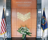 Memorial Wall at the Defense Intelligence Agency (DIA)