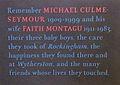 Memorial to Michael Culme-Seymour.JPG
