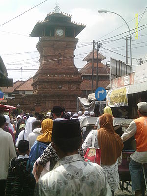 Indonesian Islamic architecture - The unique minaret (also drum tower) of Kudus Mosque in Central Java was built in the 16th century following the Hindu-Buddhist style of the Majapahit era. In Indonesia, the previous Hindu-Buddhist and traditional architectural elements are preserved.