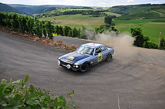 Mercedes-Benz R107 and C107 - The C107 SLC has had a successful rally career
