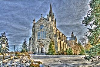 Mercersburg Academy - Irvine Memorial Chapel