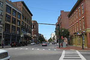 Merrimack Street, Lowell Massachusetts