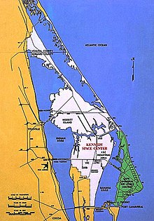 Cape Canaveral - Wikipedia on orange county street map, epcot street map, naples street map, palm beach county street map, arlington national cemetery street map, old town street map, polk county street map, empire state building street map, orlando street map, golden gate bridge street map, jacksonville street map, west melbourne street map, universal studios street map, nasa street map, homosassa springs street map, auburn university street map, key west street map, ocala street map, lake city street map, florida street map,