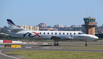 Regional Express Airlines - Fairchild Metro 23 at Sydney Airport in May 2005